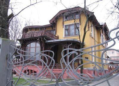 Дома в стиле модерн