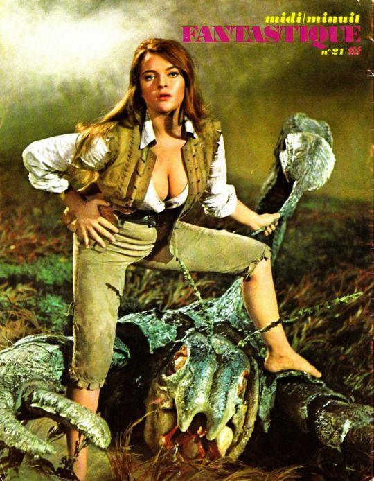 Dana Gillespie in Lost Continent, Hammer