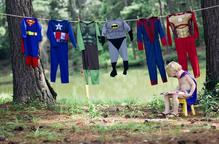 SuperHero 4th Birthday Photo By Halie J. Photography http://www.haliejohnson.com