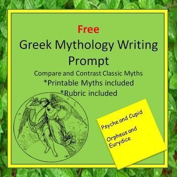best the greek myths ideas greek mythology if you enjoy this product please leave me a rating after reading the greek myths two greek myths your students will explore a common theme in essay form