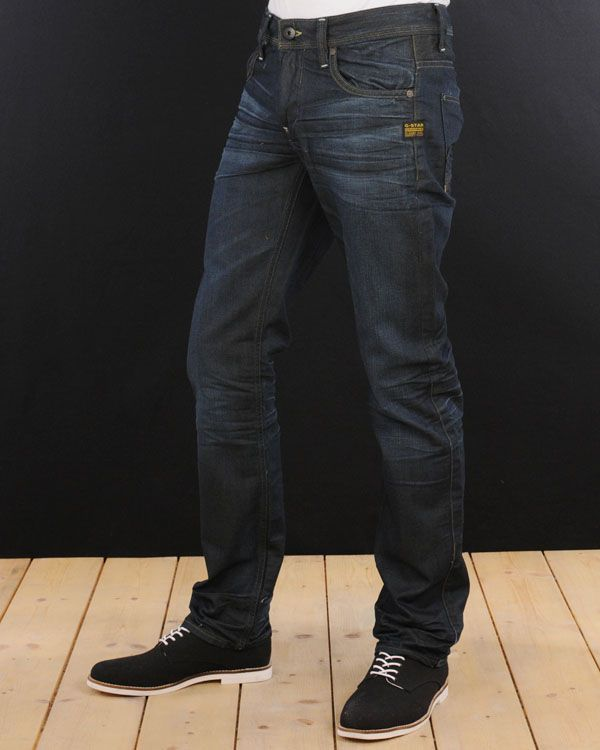 G-Star - Attacc low straight worn in jeans