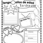 19 best images about sobre mi on pinterest spanish for Actividades para el primer dia de clases en el jardin