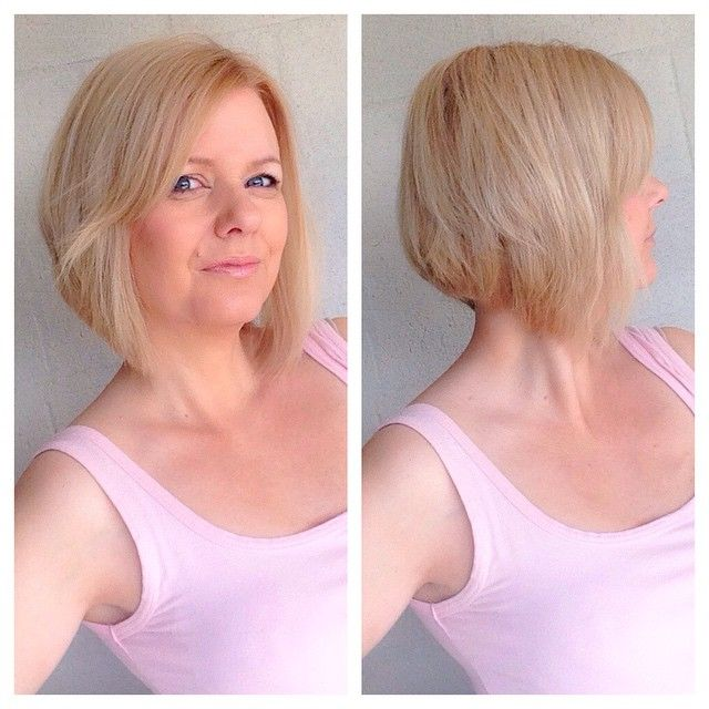 A-line bob haircuts are extremely popular hairstyles right now that let you change from long or short hairstyles into layered bobs, without that awkward in-between look! Description from hairstylesweekly.com. I searched for this on bing.com/images