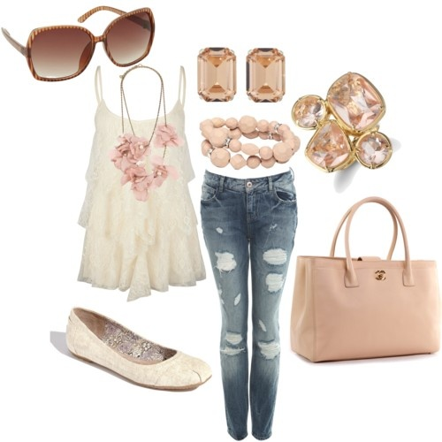 my weekend girly casual outfit, Click this image to know the brands and the prices for these items