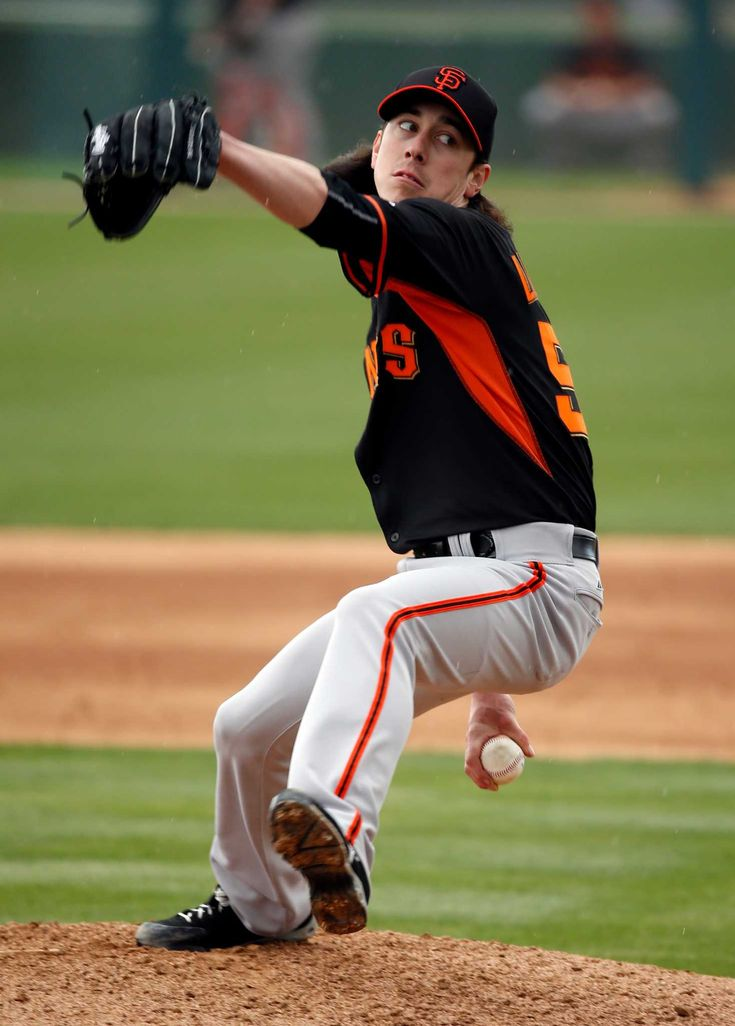 Tim Lincecum ran to the mound for his first spring outing Tuesday and noticed the new between-innings countdown clock in center field, with big red numbers telling him how much time he had to complete his warm-ups.  Lincecum then began his spring when he pitched the third inning against the A's.  Lincecum was happy with his fastball command, which helped him build 0-2 counts to each of his four hitters.  Lincecum's fastball hovered around 89 mph, but he cared less about the velocity and more…