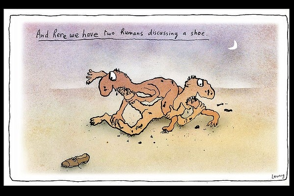 Michael Leunig cartoon via The Age