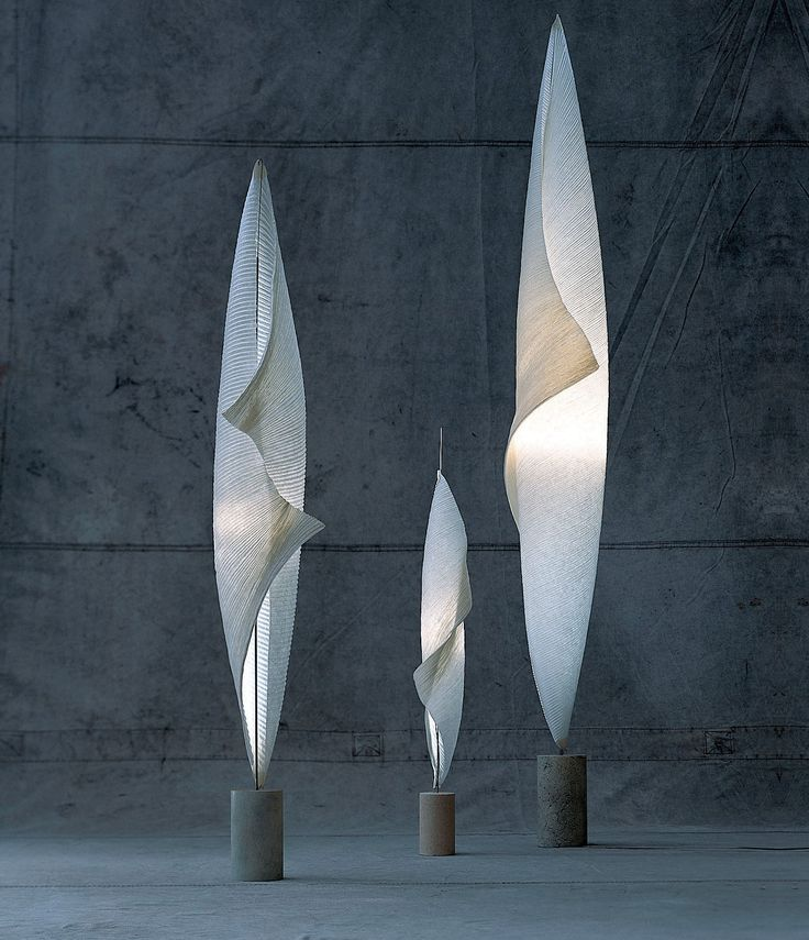 Wo-Tum-Bu Floor Lamp by Ingo Maurer. what's your secret?➤ For for more awesome tips take a look at: www.contemporarylighting.eu/ #contemporarylamps #lightingideas #uniquelamps