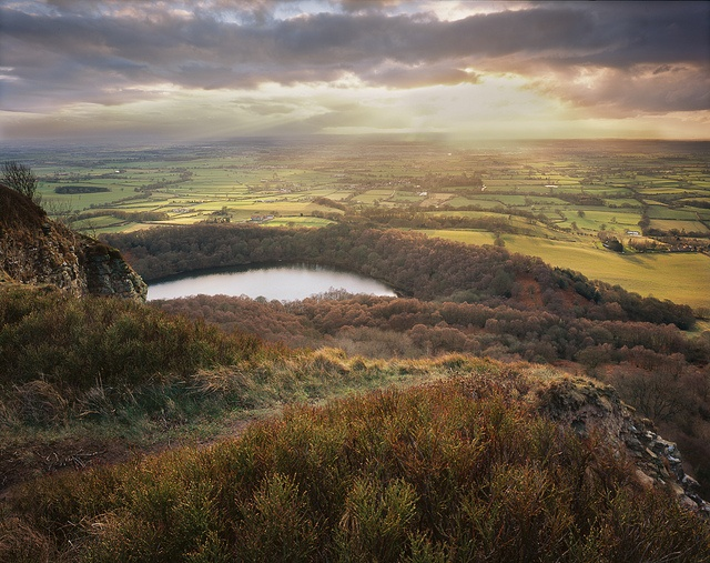 Sutton Bank Sunset by Ross J Brown, via Flickr
