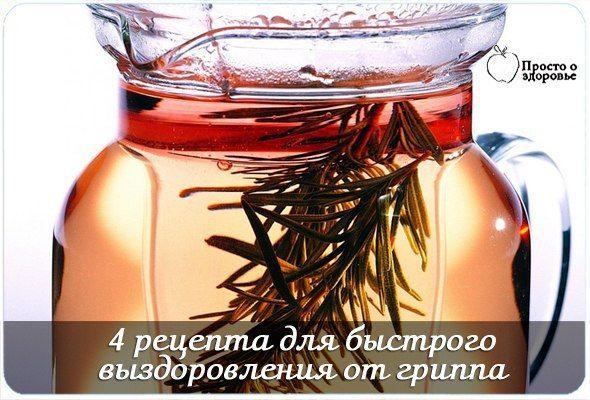 Лечение гриппа народными средствами: 4 рецепта для быстрого выздоровления