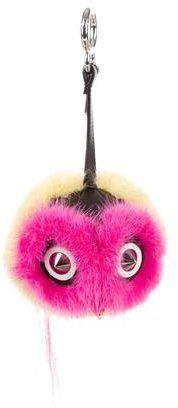 Fendi 2015 Coolibri Qutweet Bag Bug Charm