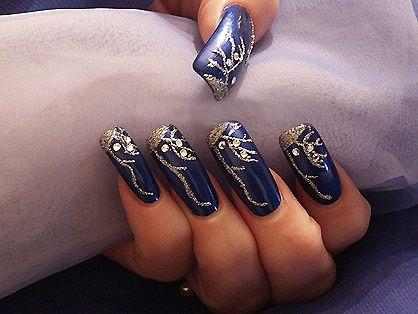 New Nail Designs 2014 | Winter nail design 2014 photo. New year's nail design 2014 photo
