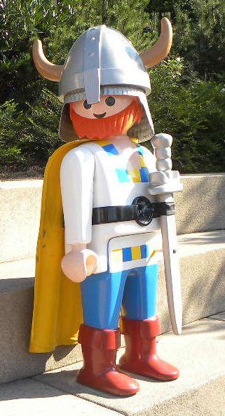 Playmobil géant - Homme viking - 2002 - Boîte 3151