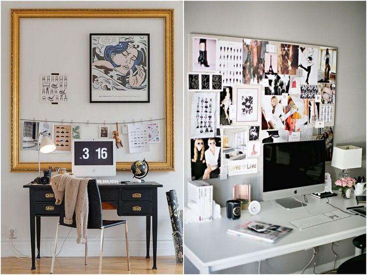 decoração board de inspiração quadro de aviso notas_-3