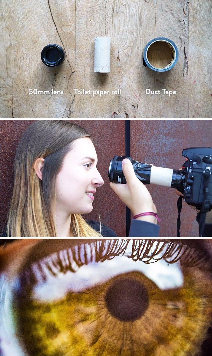 Mit dem Objektiv können Sie die schönen Bilder mit dem Effekt sehen und anders als die anderen ...