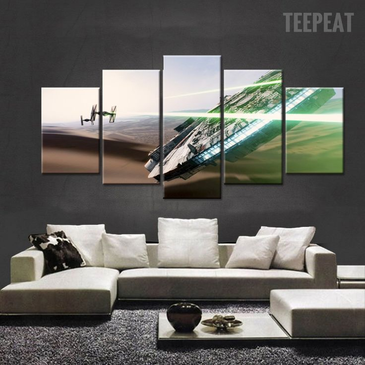 Star Wars V2 Painting - 5 Piece Canvas