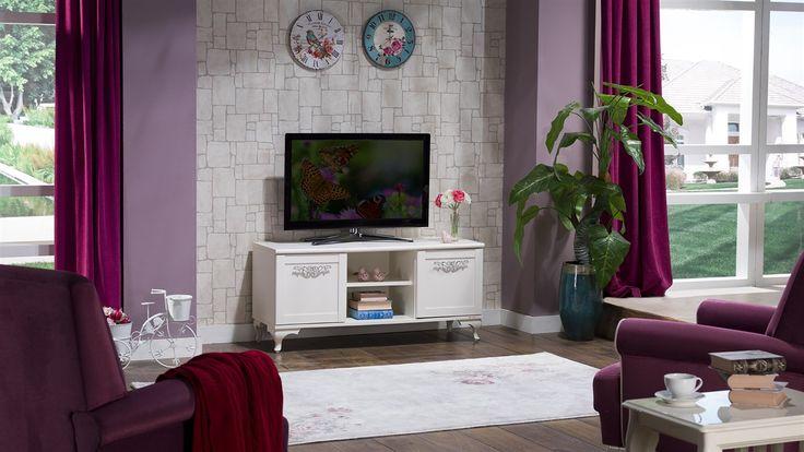Linda Plazma Tv Sehpası - Bellona Mobilya