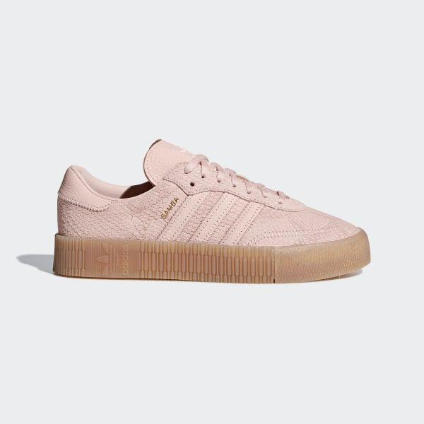 Samba Rose Shoes Icey Pink / Icey Pink / Gum B28164 | Adidas ...
