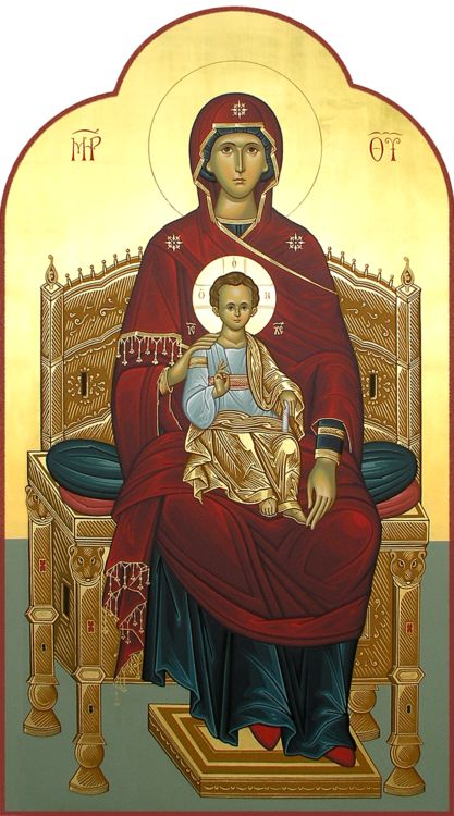 Theotokos and God-born