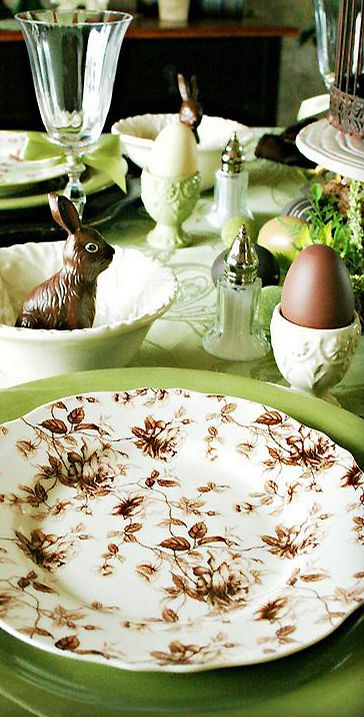 Modern Fairytale | Easter tablescape | cynthia reccord