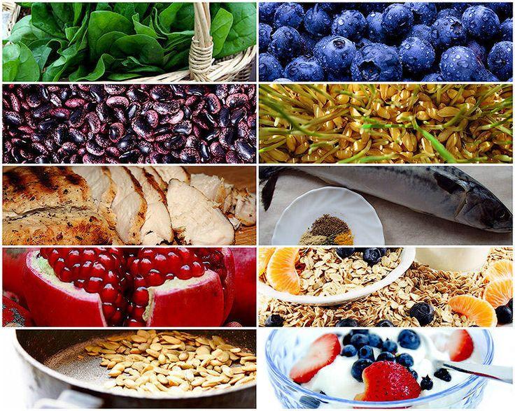 Энергия в тарелке – 10 продуктов против усталости • НОВОСТИ В ФОТОГРАФИЯХ