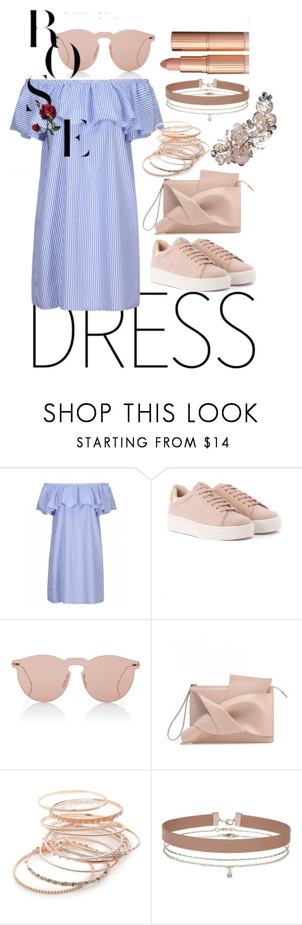 """Untitled #74"" by galg123 ❤ liked on Polyvore featuring Illesteva, Red Camel and Miss Selfridge"