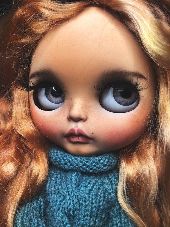 Dolls & Bears Sabrina The Witch Custom Blythe Doll Blythe