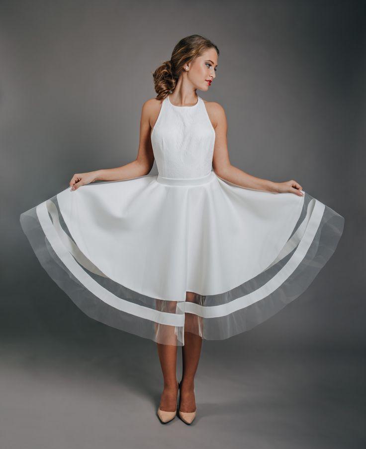 White Wedding Dress!  #wedding #dress #white
