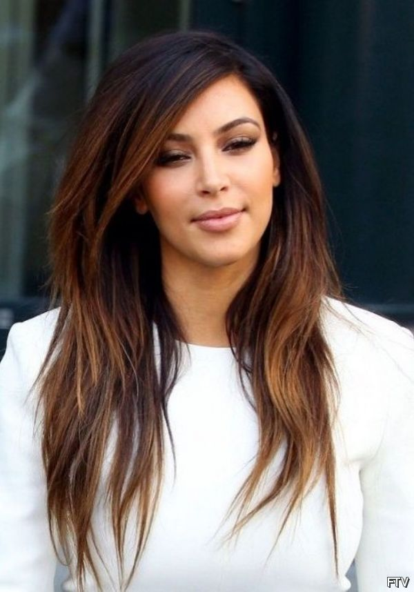brown straight hair ombre - Google Search
