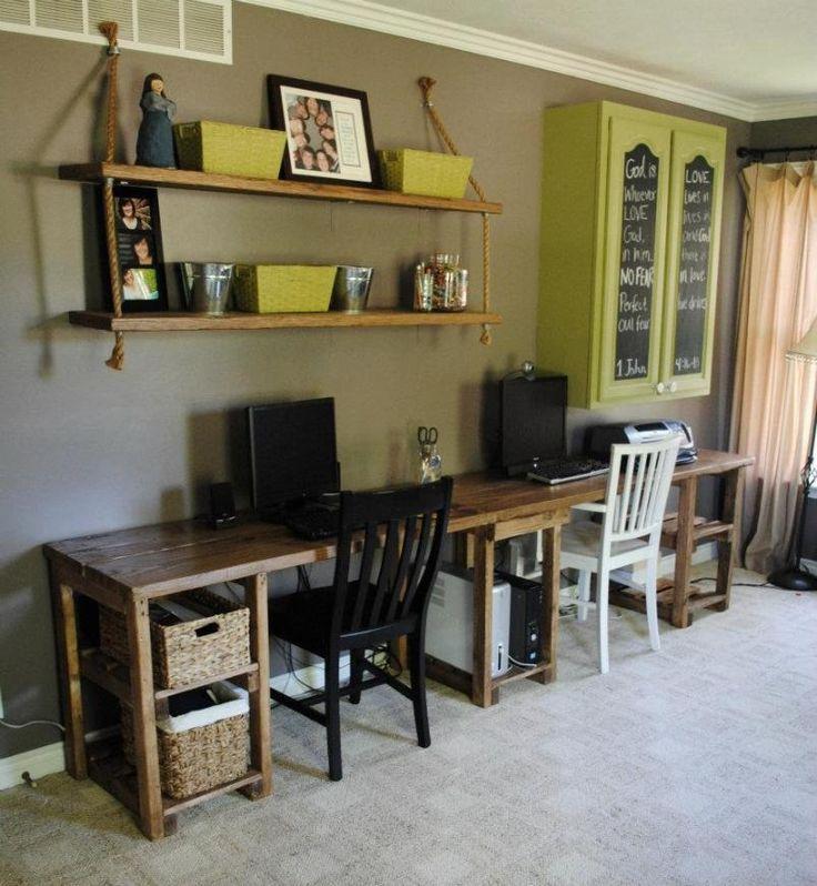 Custom Home Office Desks