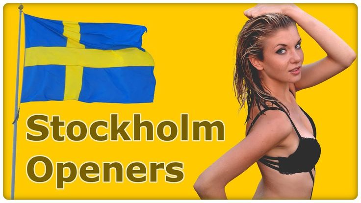 Pick Up Swedish Girls - 3 Openers for Daygame in Sweden - Stockholm 2018