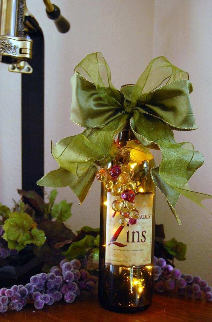 Wine Bottle Lamp Diy 135 Best Wine Bottle Lighting Images On Pinterest Wine Bottle