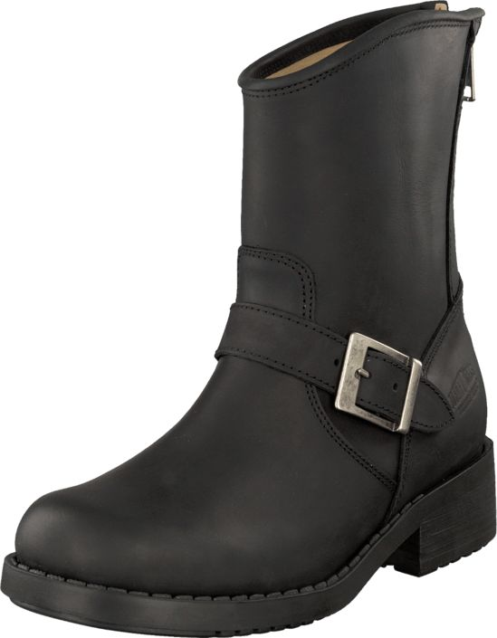 Johnny Bulls - Low Boot Zip Back Black/Silver