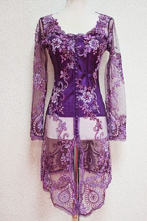 Empire of Elegance - Purple Kebaya Katarina