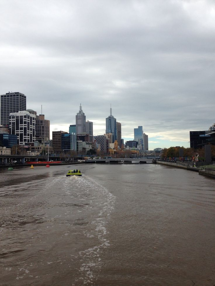 The Yarra - Melbourne