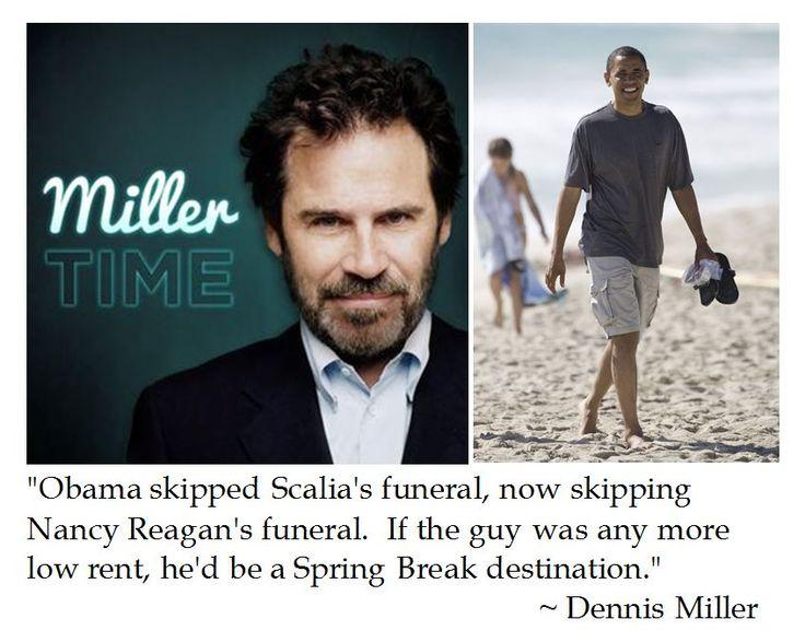 Dennis Miller on Obama