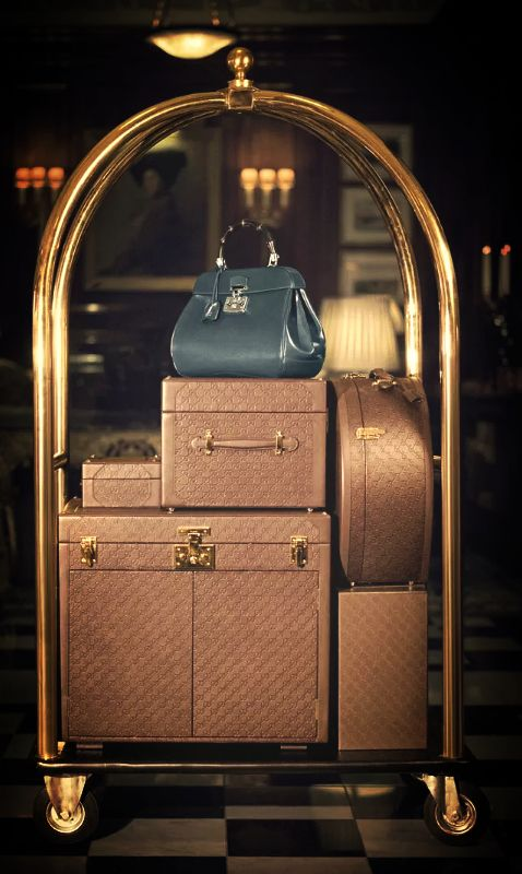 ♕ The Luxury Side of Life ♕ Gucci Luggage