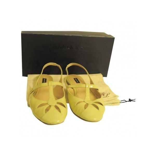 Pre-owned Bimba & Lola Ballet Flats (4.650 RUB) ❤ liked on Polyvore featuring shoes, flats, ballet pumps, beige ballet shoes, ballet shoes flats, beige flats and ballerina flat shoes