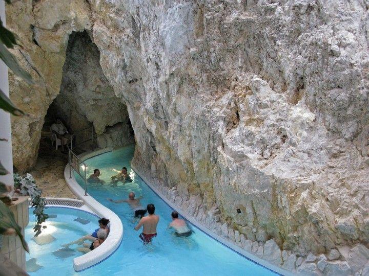 Miskolc-Tapolca cave bath, Hungary