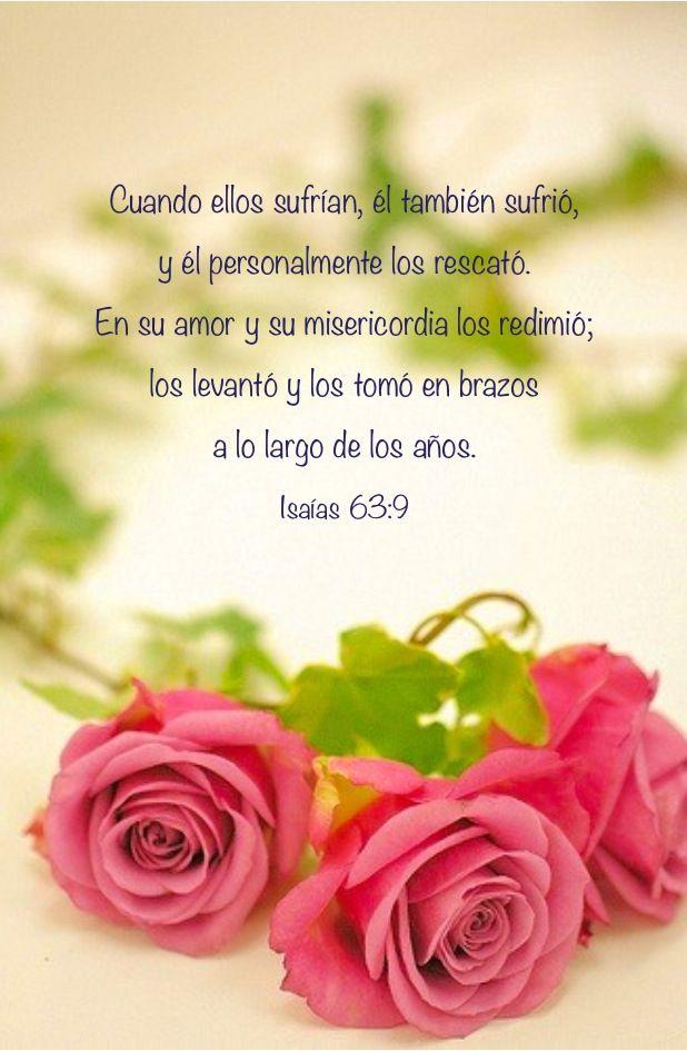 Que bendición es poder reconocer  que cada momento de mi vida el Señor me lleva en sus brazos!!!