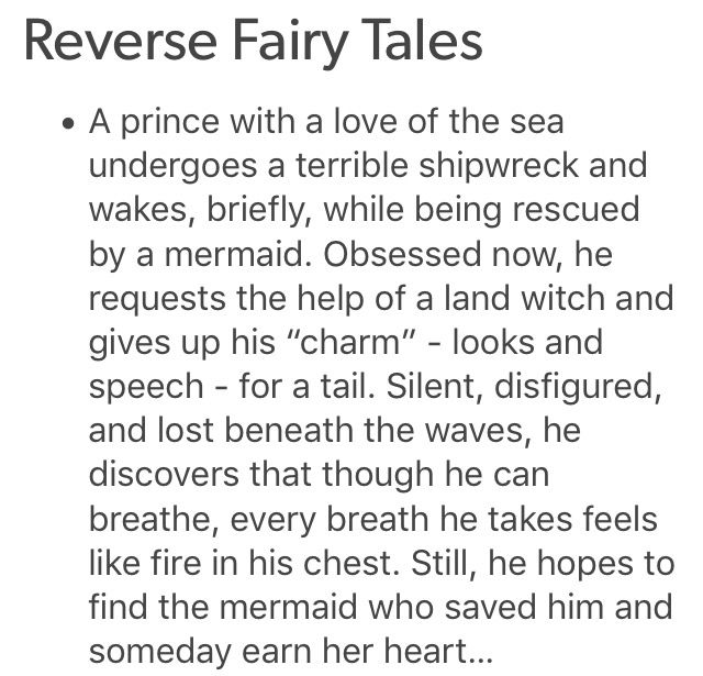 The original little mermaid written about Hans Christian Anderson was about a mermaid(himself) and the guy he had a crush on and it ended in tragedy because the guy in real life did not reciprocate his feelings.