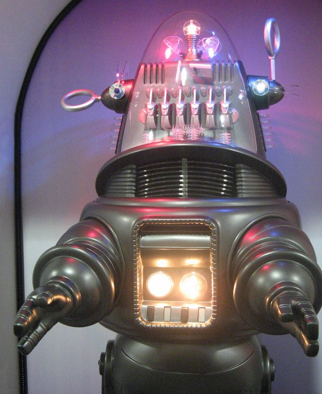 """Robby the Robot was featured in the 1956 film Forbidden Planet. #magnificent Hashtags: #MajesticVision #Android"