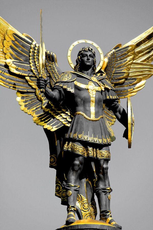 Ukrainian Statue Lucifer, The Fallen Angel, the Bright Morning Star, the Light Bringer