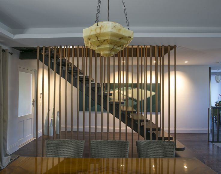 Floating Stairwell to ground level