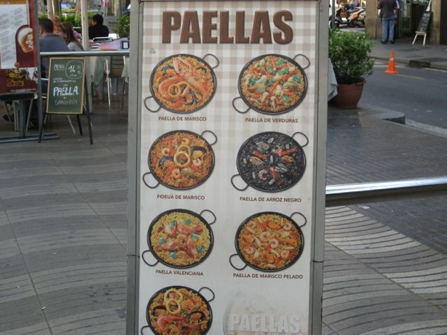 paellas