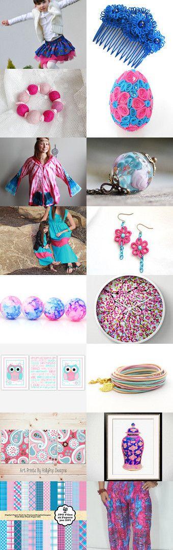 pink'nblue by Luiza Malinowska on Etsy--Pinned with TreasuryPin.com