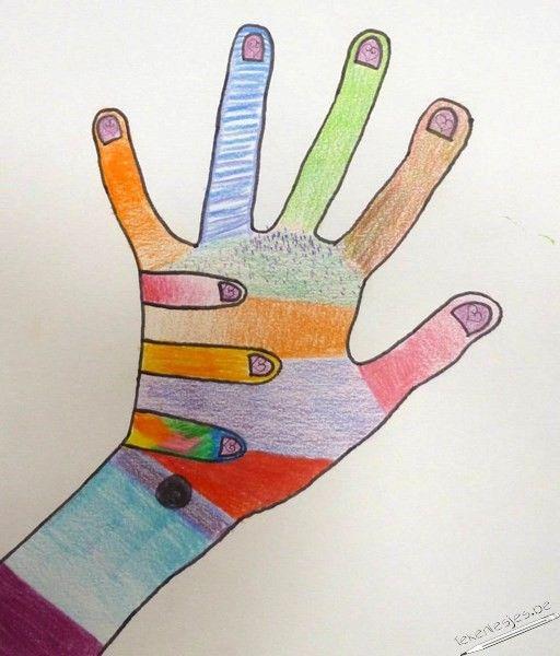 De leerlingen van het tweede secundair kregen een herhalingsblad van de technieken van kleurpotlood.    Download werkblad technieken kleurpotlood hier.  Nadat w