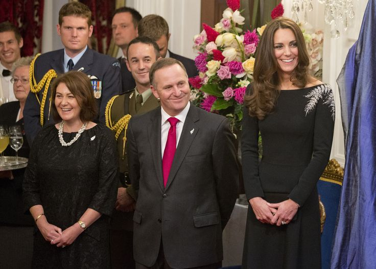 4/10/2014: State Reception at Government House, with Bronagh Key & Prime Minister John Key (Wellington, New Zealand)