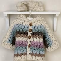Crochet Pattern Beginner Baby Sweater | CROCHET HOODED BABY SWEATER | Crochet For Beginners