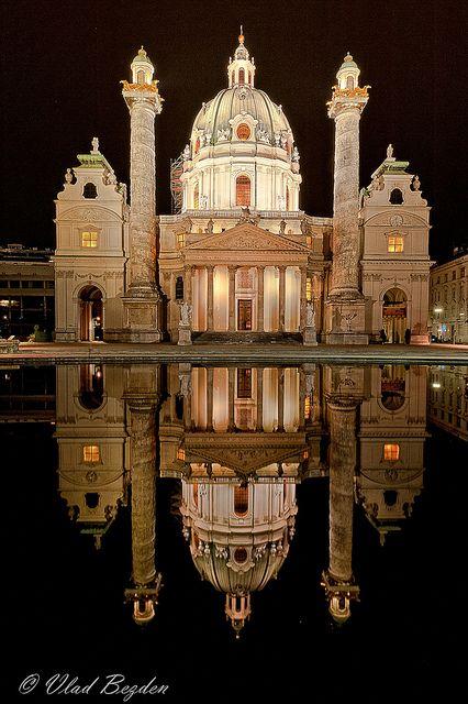 Igreja de St. Charles, em Viena, Áustria