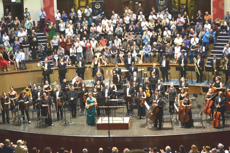Maria Solozobova performed the Sibelius violin concerto with the Cape Town Philharmonic Orchestra conducted by Perry So, 2015, https://andywildingfmr.wordpress.com/2015/10/31/homage-to-sibelius-150-solozobova-perry-so-concertreview/